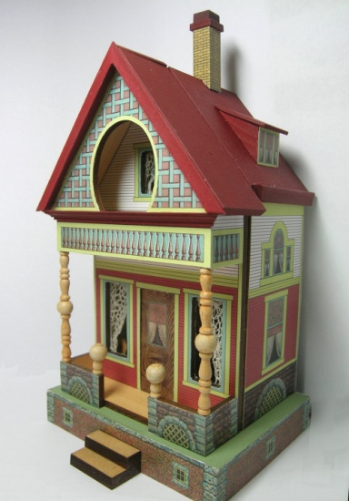 Quarter Scale Bliss Keyhole House Class/Kit - Click Image to Close
