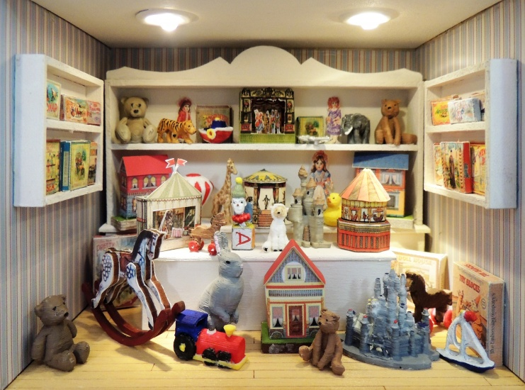 1/4 Scale Toy Shop Project - Click Image to Close