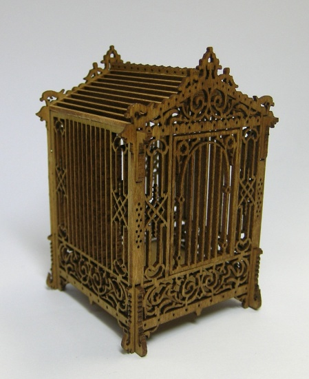 Victorian Birdcage and Table Kits - Click Image to Close