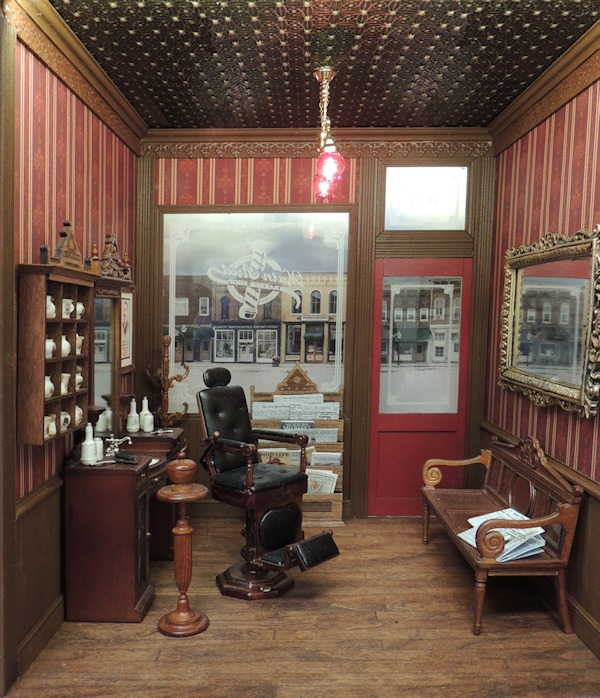 Main Street Barber Shop Online Project - Click Image to Close