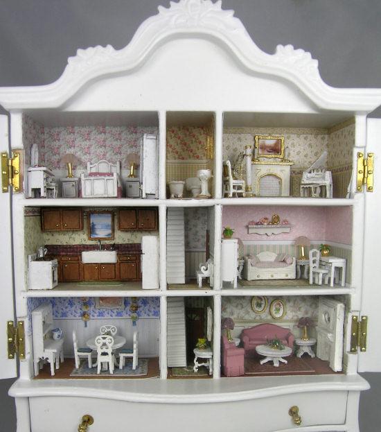 Dutch Baby House Projects Miniature Dollhouse Kits