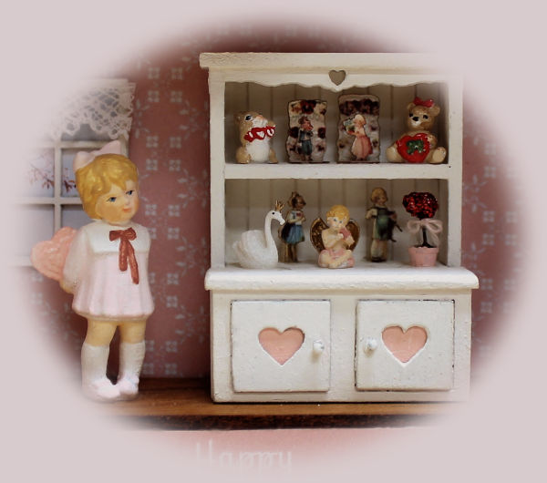 1/4 Scale Valentine Vignette Online Class and Kit - Click Image to Close