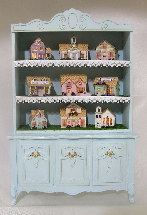 Springtime Village Hutch Project - Click Image to Close