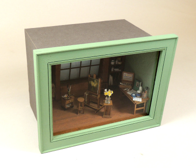 """Rooftop Studio"" 1/4 Scale Online Class and Kit - Click Image to Close"