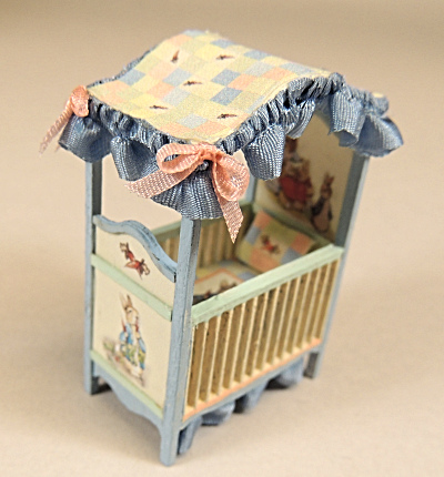 1:48 Scale Peter Rabbit Nursery Roombox - Class and Kit - Click Image to Close