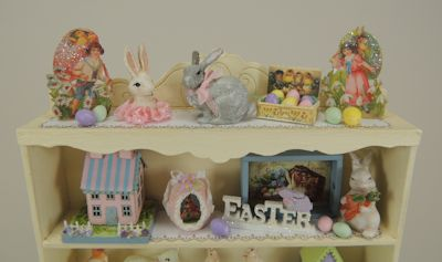 Spring Is Here - Filled Spring Hutch Online Class and Kit - Click Image to Close