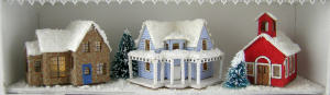 The Christmas Village Hutch Project - Click Image to Close