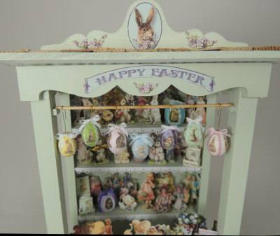Victorian Easter Market Kiosk Online Class and Kit - Click Image to Close