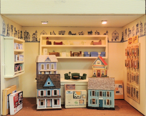 Quarter Scale Dollhouse Shop Online Class and Kit - Click Image to Close