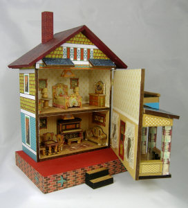 "Quarter Scale""Balcony"" 3rd Bliss House Class/Kit - Click Image to Close"