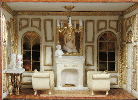 French Salon 144th Scale Roombox Online Class and Kit - Click Image to Close