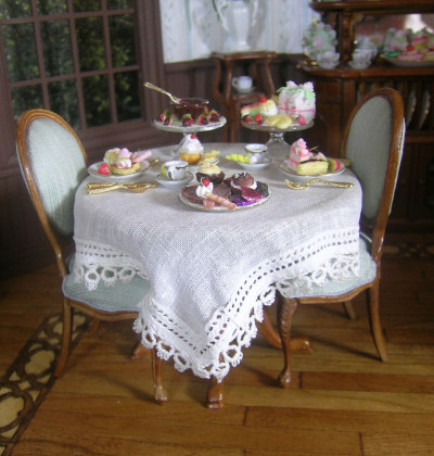 Miss Lydia's Tea Room - Class and Kit - Click Image to Close