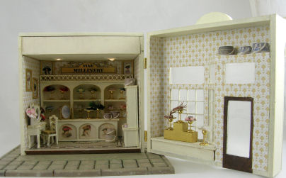 c0a83f1ab81 Quarter Scale Hat Shop [oc-2qshs] : Miniature Dollhouse Kits ...