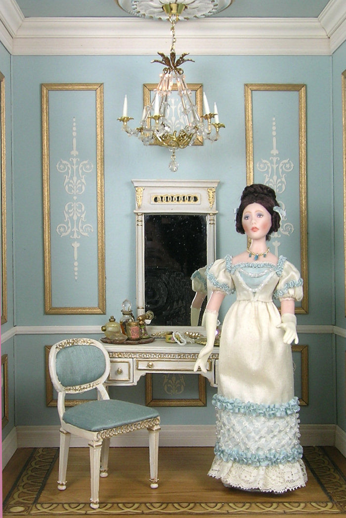 Niche I - Regency Era Dressing Room - Click Image to Close