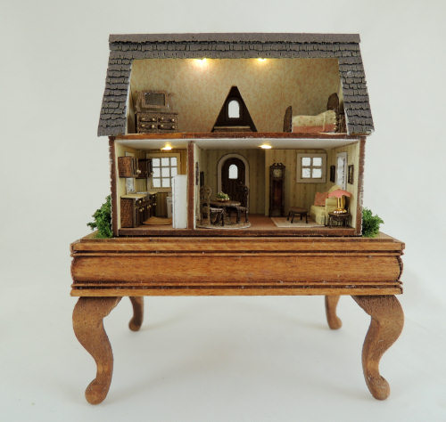 144th Scale Tranquilty Cottage - Click Image to Close