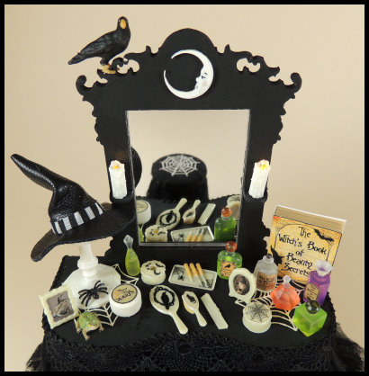 The Witch's Dressing Table - 1/12 Scale Project - Click Image to Close