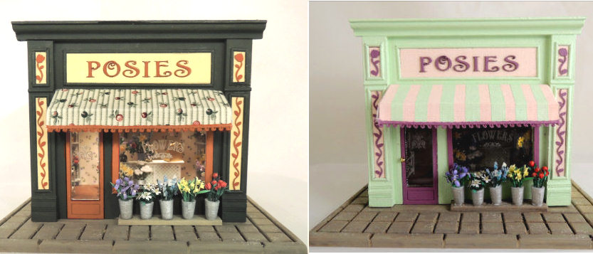 1/4 Scale Flower Shop Online Project - Click Image to Close