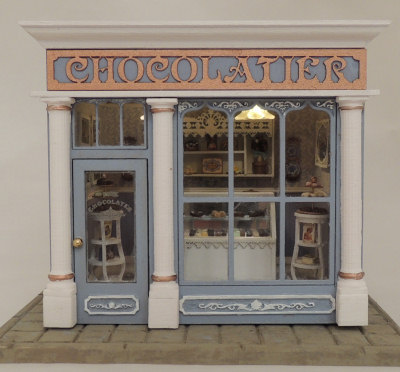 1 4 Scale Chocolate Shop Online Class And Kit Oc Qscs